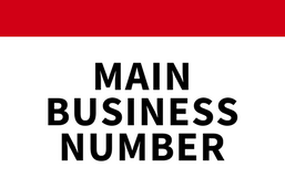 MAIN BUSINESS NUMBER (1)